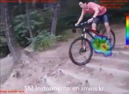 Mountain Bike With Sound Camera