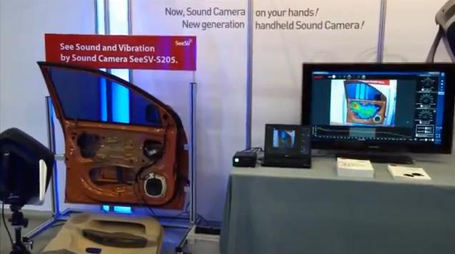 SMI SeeSV Acoustic Camera – Door Panel