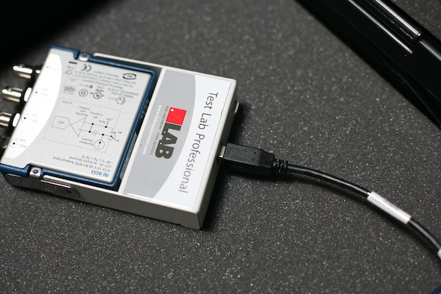 Usb Data Acquisition : Test lab professional™ drop shock v usb thp systems